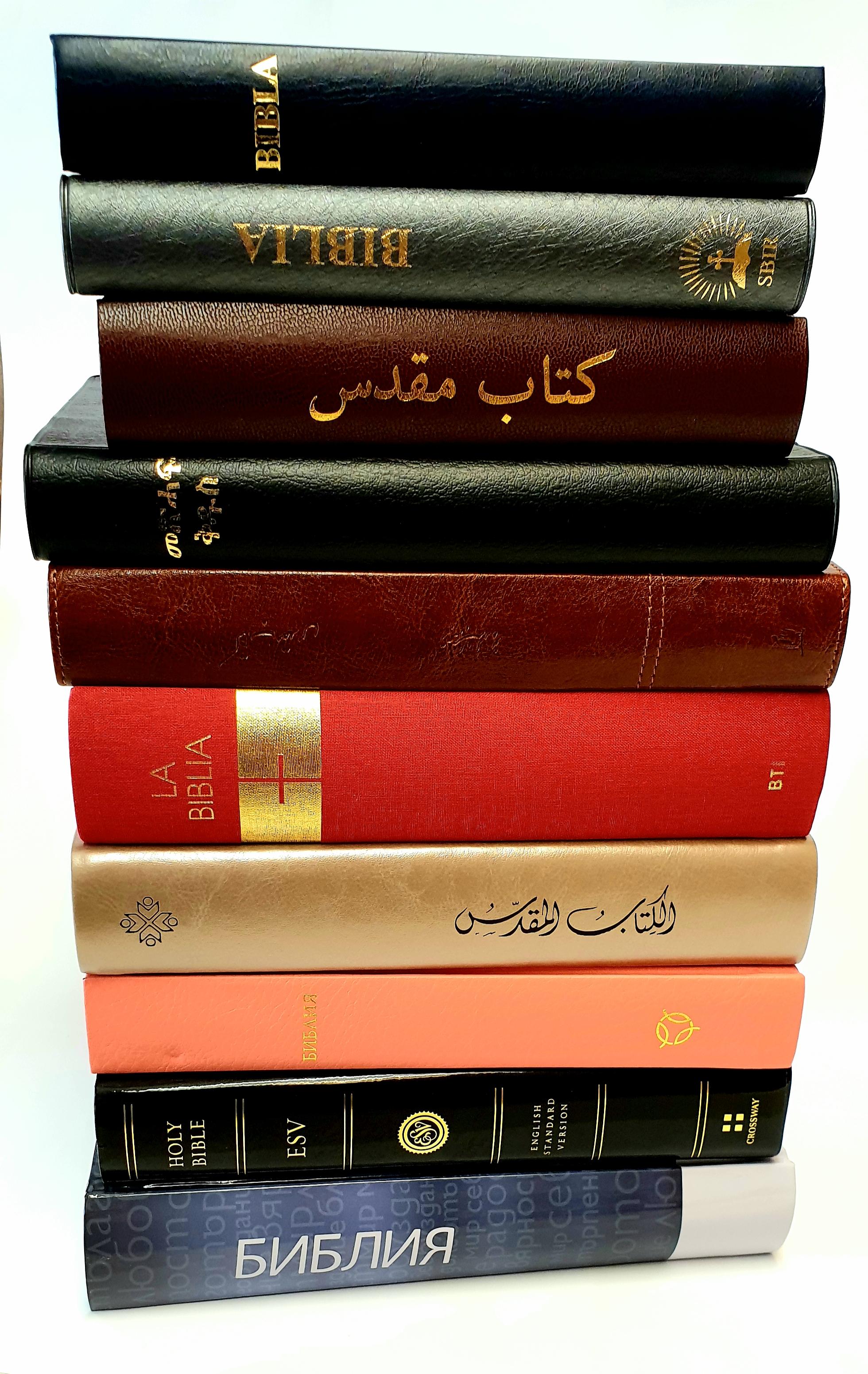 Bibelpaketet, bibeln på utländska språk