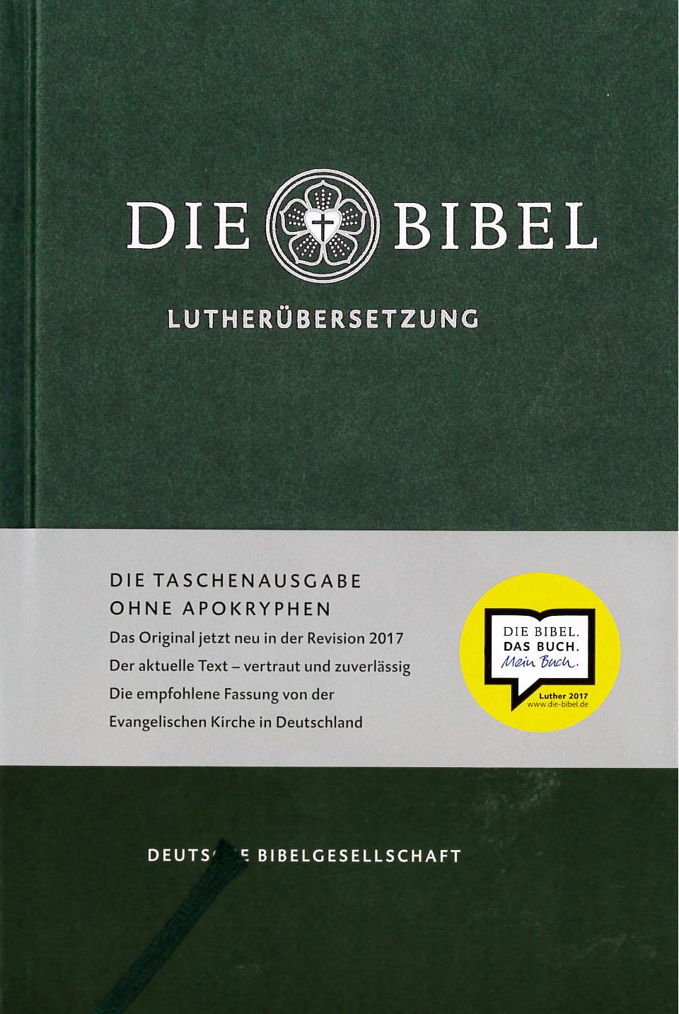 Die bibel Lutherübersetzung artikelnummer 2486 via bibelbutiken.se