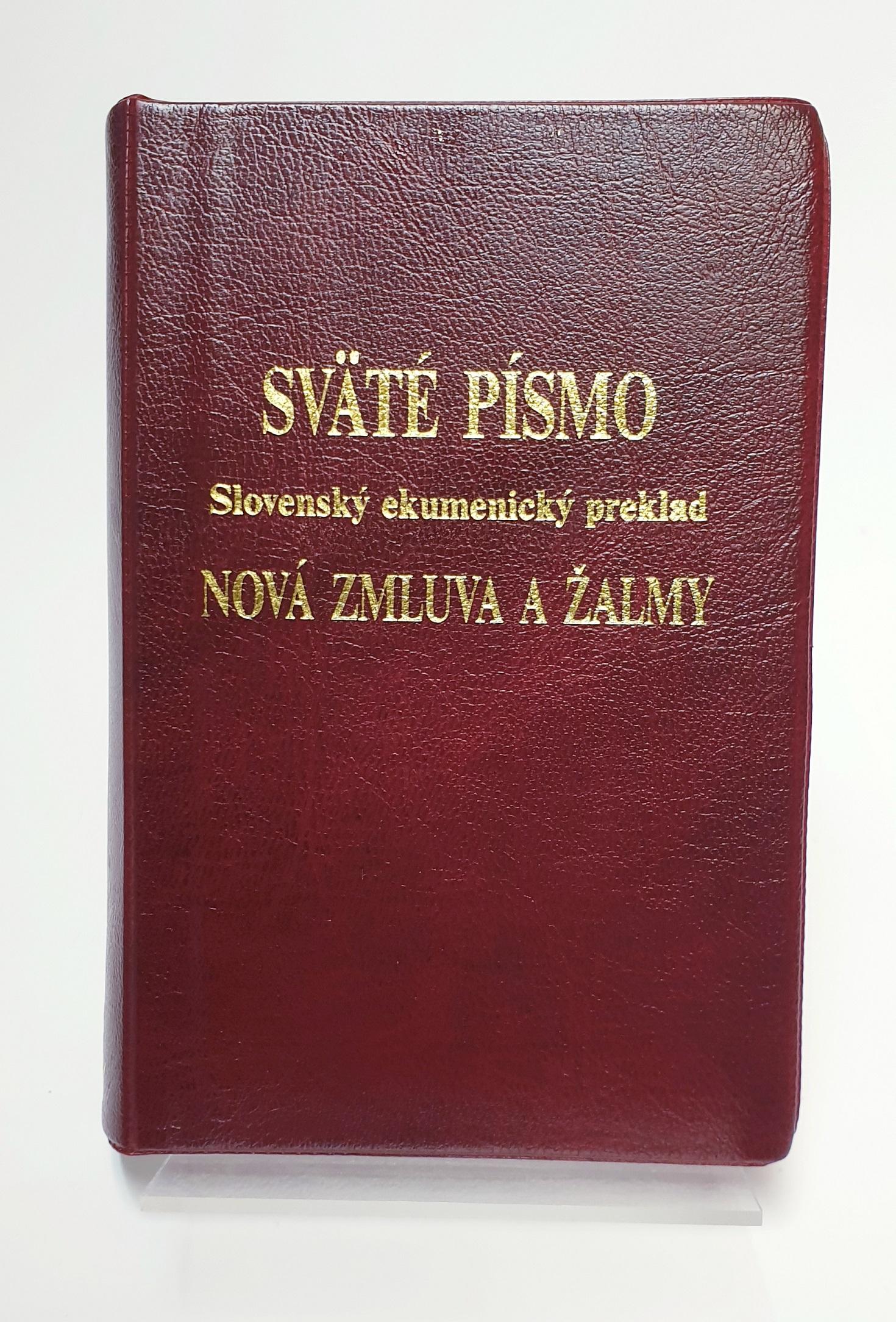 Slovakiskt nytt testamente artikelnummer 2488 via bibelbutiken.se