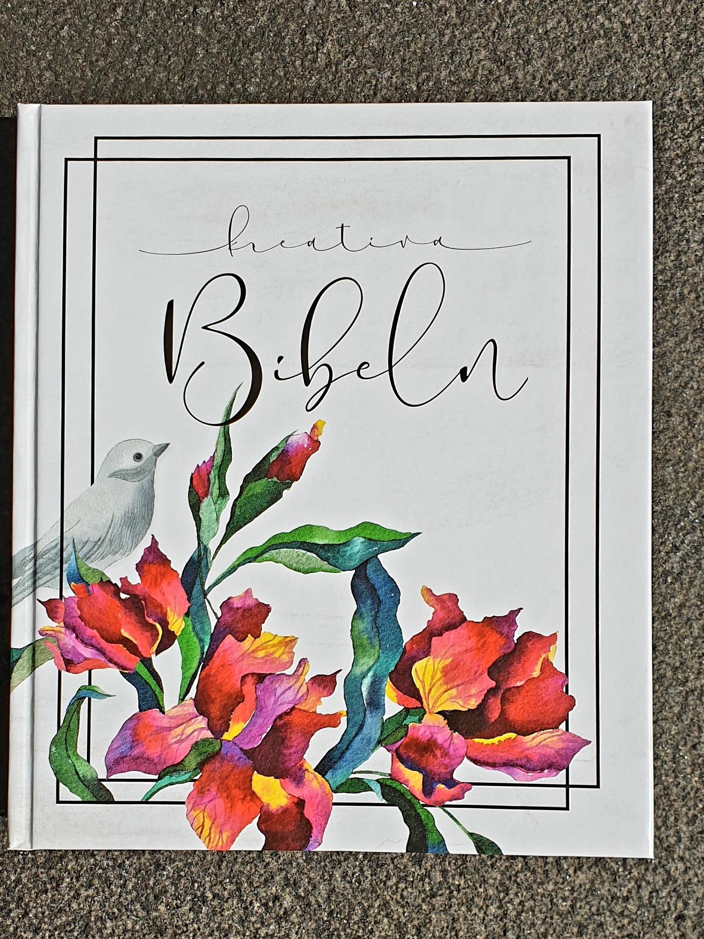 artikelnummer 2539 kreativ bibel vit via bibelbutiken.se