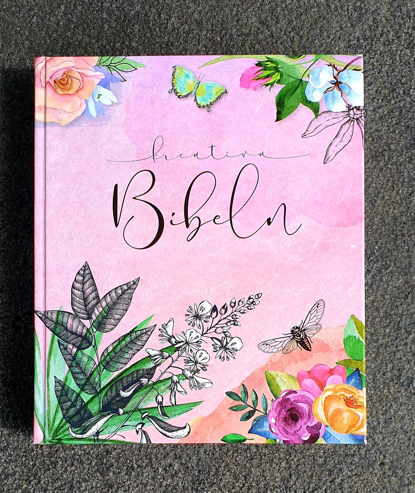 artikelnummer 2541 kreativ bibel rosa via bibelbutiken.se