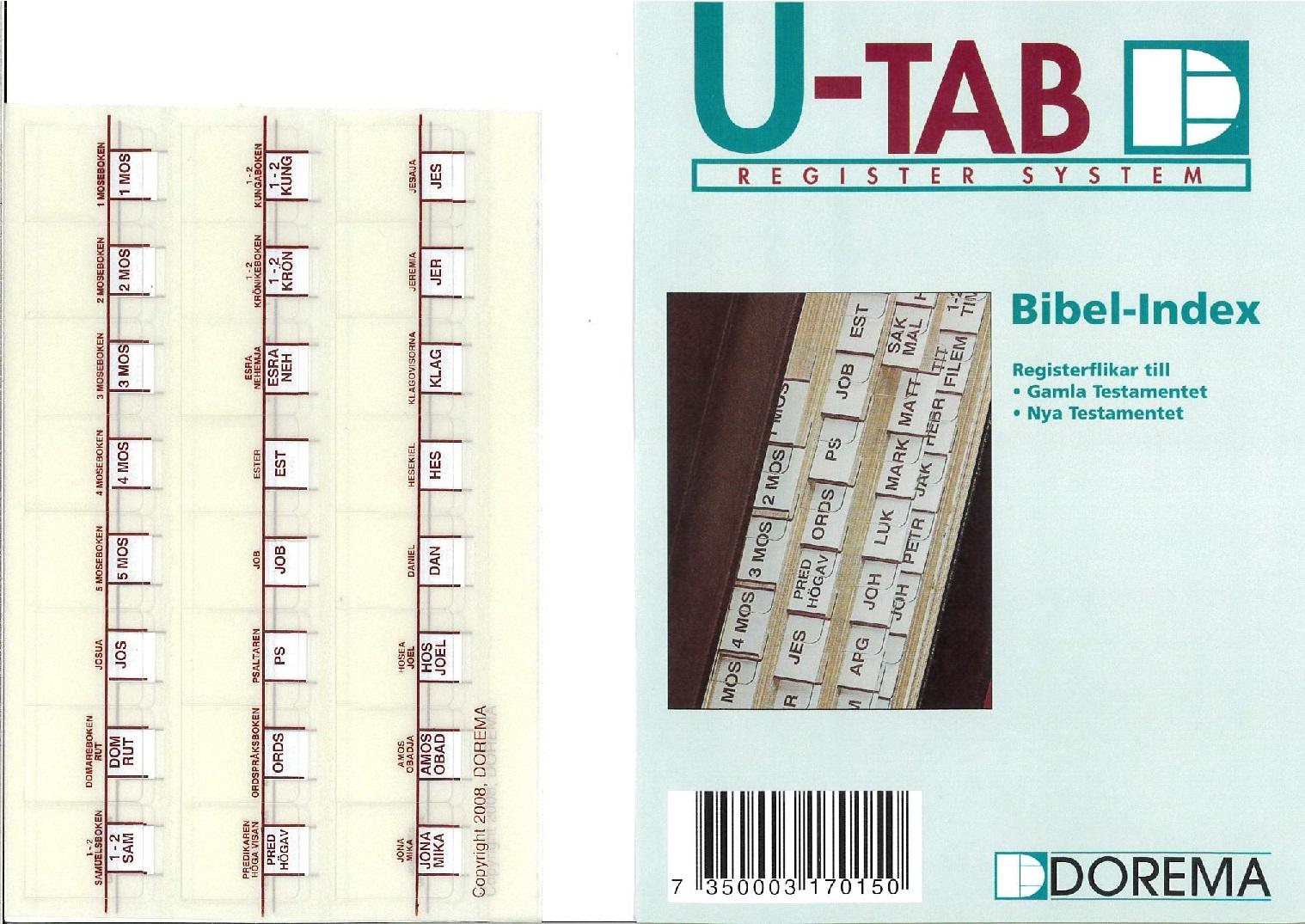 Artikelnummer 2554 bibelindex vinröd via bibelbutiken.se