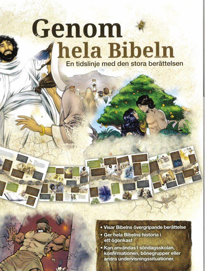 Genom hela Bibeln, artikelnummer 2579 via bibelbutiken.se