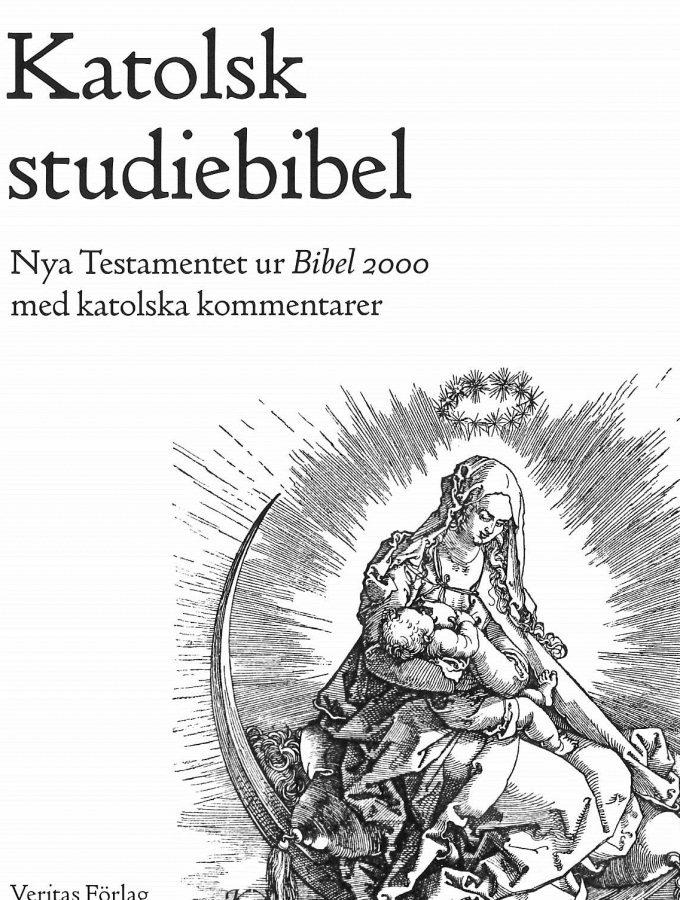 Artikelnummer 2582 katolsk studiebibel via bibelbutiken.se