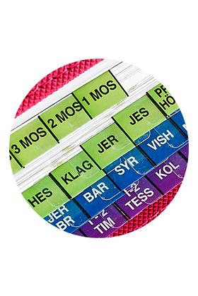 Bibelindex från U-tab artikelnummer 2610 via bibelbutiken.se