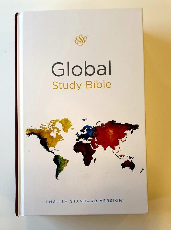 Engelsk studiebibel, global study bible, esv artikelnummer 2660 via bibelbutiken.se