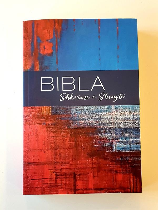 Albansk bibel artikelnummer 2663 via bibelbutiken.se