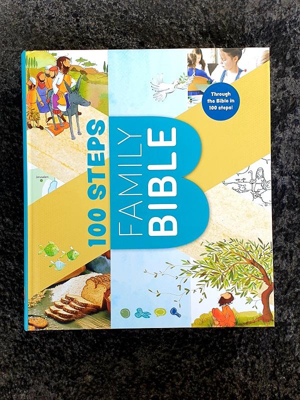 100 steps family bible artikelnummer 2675 via bibelbutiken.se